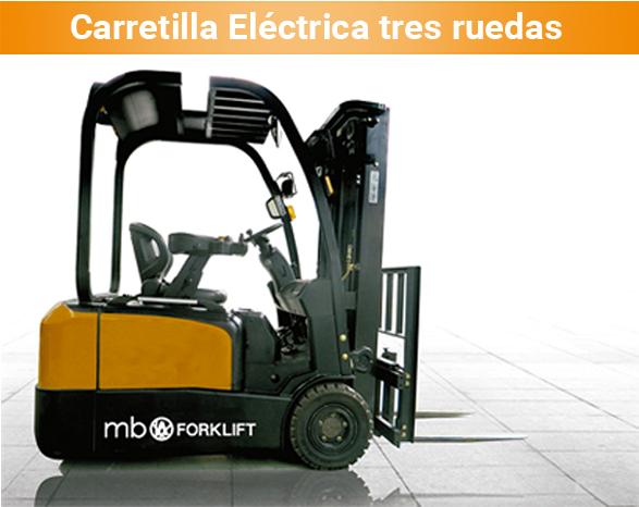 MB FORKLIFT. Elsade Carretilla_CPDS16_AC6-